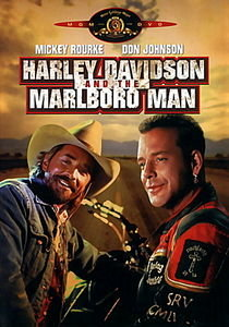 Харли Дэвидсон и Ковбой Мальборо на DVD