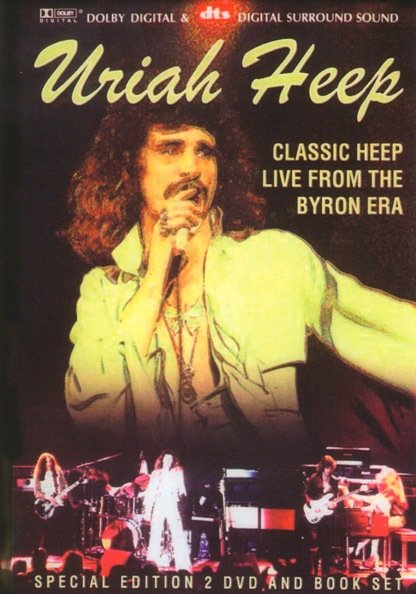 Uriah Heep - Classic heep live from the byron era на DVD