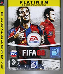 FIFA 08. Platinum (PS3)