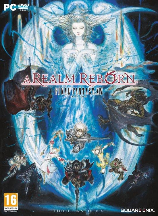 Final Fantasy XIV A Realm Reborn Collectors Edition (DVD-BOX)