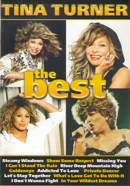 Tina Turner The best of на DVD