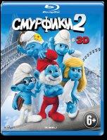 Смурфики 2 3D+2D (Blu-ray 50GB)