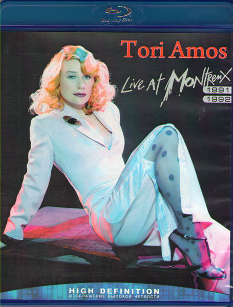 Tori Amos Live At Montreux 1991 / 1992 (Blu-ray)* на Blu-ray
