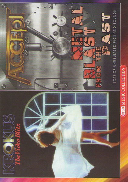 Krokus The video blitz / Accept Metal Blast From The Past на DVD