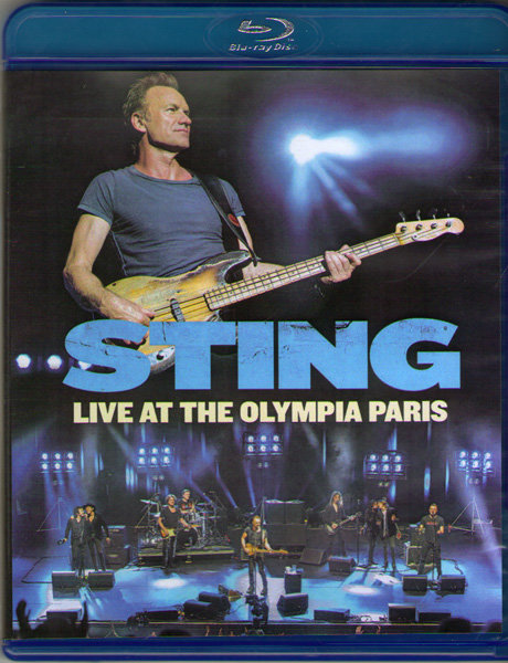 Sting Live at the olympia Paris (Blu-ray)