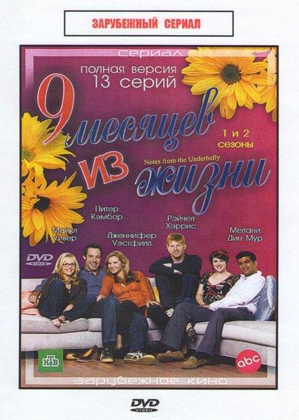 9 месяцев из жизни (Девять месяцев из жизни) 1,2 Сезоны (13 серий) на DVD