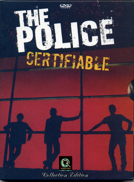 The Police Certifiable на DVD