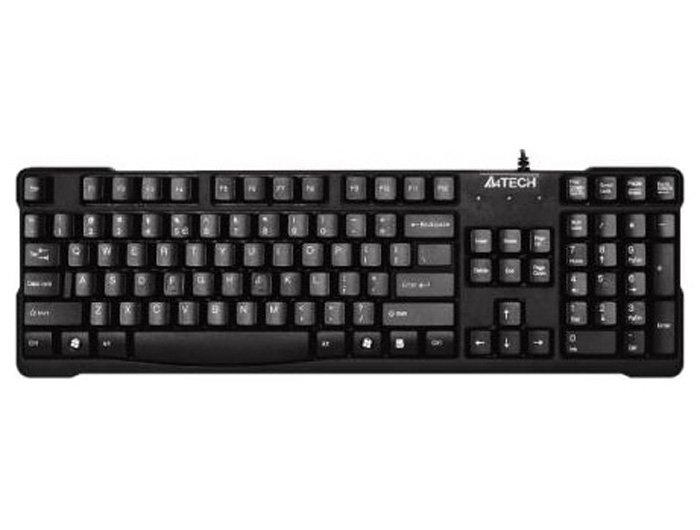 Клавиатура A4 KBS-750 Черная USB