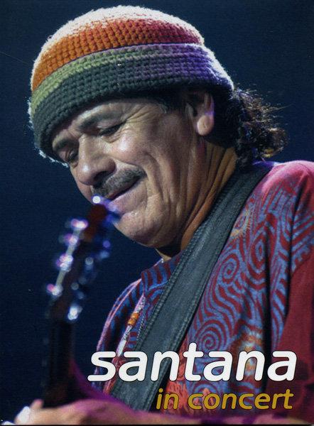 SANTANA In Concert (Lorely Festival in Germany 1998)  на DVD