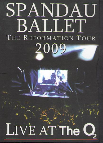 Spandau Ballet Live At The O2 на DVD