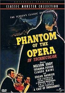 Призрак оперы (Коллекция Американский хоррор) (Dj-Пак) на DVD