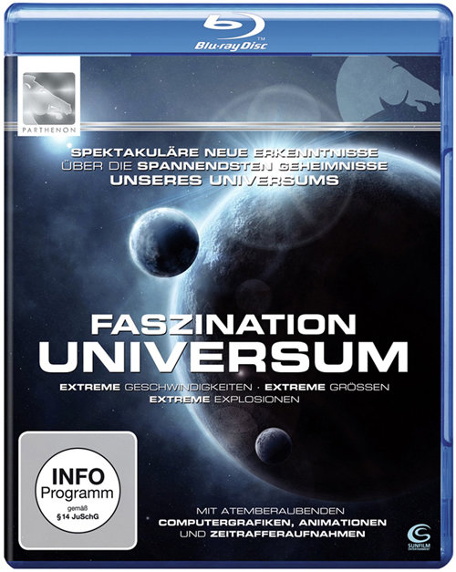Discovery Известная Вселенная (3 серии) (Blu-ray) на Blu-ray
