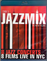 JazzMix 8 Jazz Concerts 8 Films Live in NYC (2 Blu-ray)*