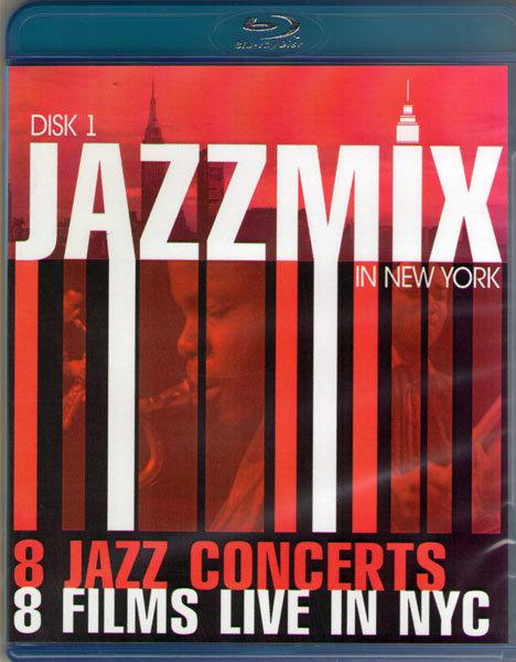 JazzMix 8 Jazz Concerts 8 Films Live in NYC (2 Blu-ray)* на Blu-ray