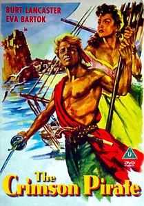 Багровый пират  на DVD
