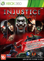 Injustice Gods Among Us (Xbox 360)