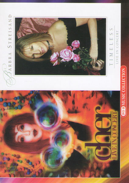 Cher Live in concert / Barbra Streisand Timeless live in concert на DVD