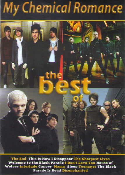 My Chemical Romance The Best (The Black Parade / From Maxwell's in Hoboken) на DVD