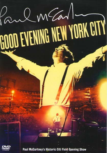 Paul McCartney Good evening New York city на DVD