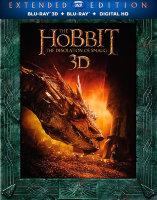 Хоббит Пустошь Смауга Режиссерская версия (2 Real 3D Blu-ray + 3 Blu-ray)