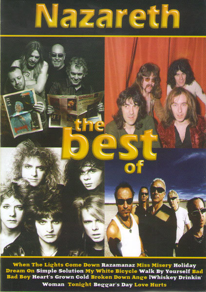 Nazareth The Best (Homecoming The Greatest hits Live in Glasgow / From the beginning) на DVD