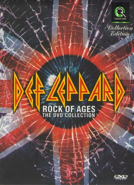 Def leppard Rock Of Ages на DVD