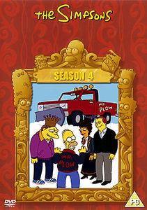 Симпсоны Сезон 4 Диск 4 на DVD