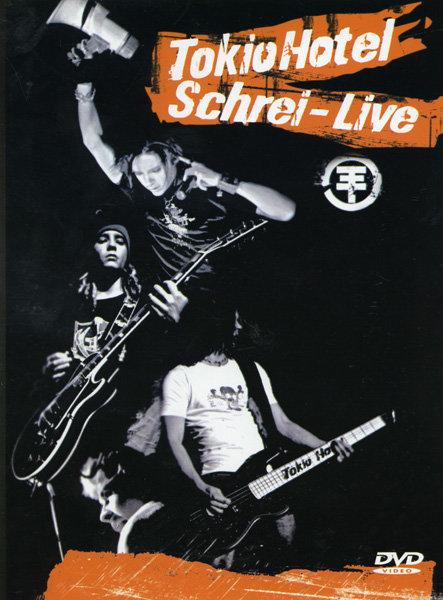 Tokio hotel Schrei-Live на DVD