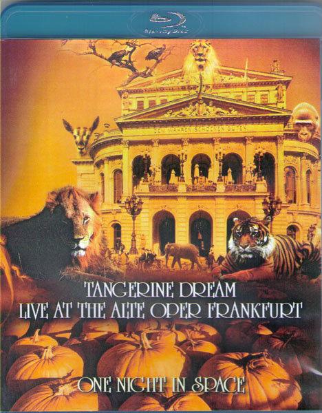 Tangerine Dream  One Night In Space Live at the Alte Oper Frankfurt (Blu-ray)* на Blu-ray