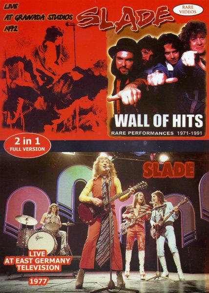 Slade - Live at Granada Studios 1972/Wall Of Hits. Rare Performance 1971-1991 /Live at east Germany Televisio 1977  на DVD