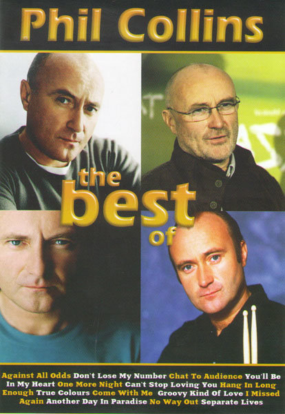 Phil Collins The Best (Phil Collins Finally The First Farewell Tour / Videos) на DVD