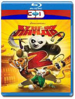 Кунг-фу Панда 2 Пандамания продолжается 3D+2D (Blu-ray 50GB)