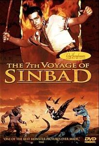 Седьмое путешествие Синдбада на DVD