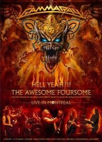 Gamma Ray Hell Yeah The Awesome Foursome Live in Montreal (2 DVD) на DVD