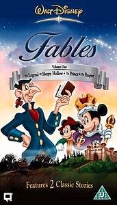 Сказки Диснея: Том 1 на DVD