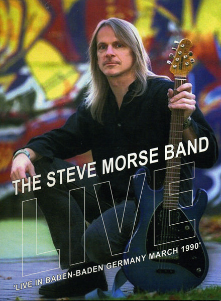 The Steve Morse Band  Live In Baden Baden Germany March 1990 на DVD