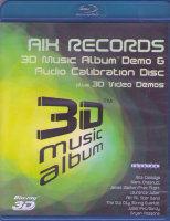 AIX Records 3D Music Album Demo and Audio Calibration  (3D Blu-ray)