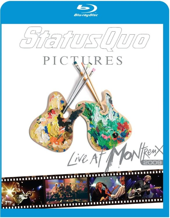 Status Quo Pictures Live In Montreux (Blu-ray)*