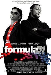 Формула 51 (51-й штат) на DVD