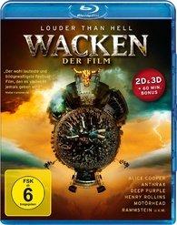 Wacken Louder Than Hell Der Film 3D+2D (Blu-ray 50GB) на Blu-ray