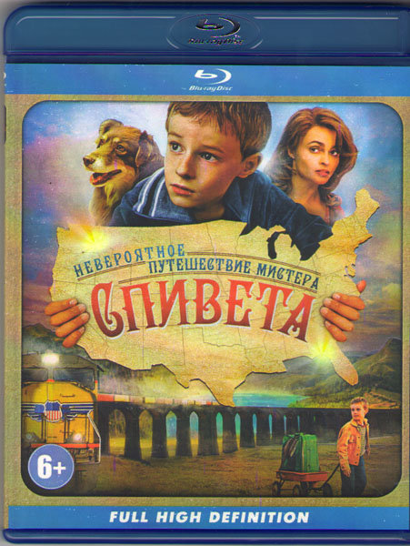Невероятное путешествие мистера Спивета (Blu-ray) на Blu-ray