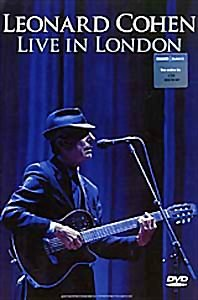 Leonard Cohen Live In London на DVD