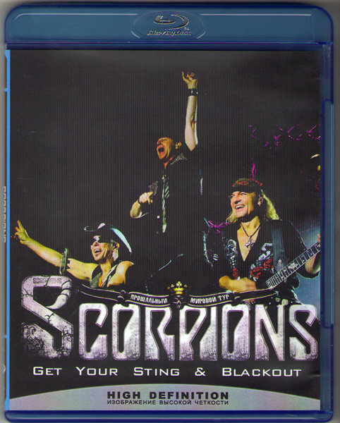 Scorpions Live Get Your Sting Blackout (Blu-ray)