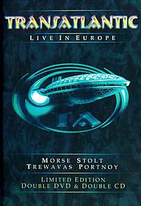 TRANSATLANTIC - LIVE IN EUROPE на DVD
