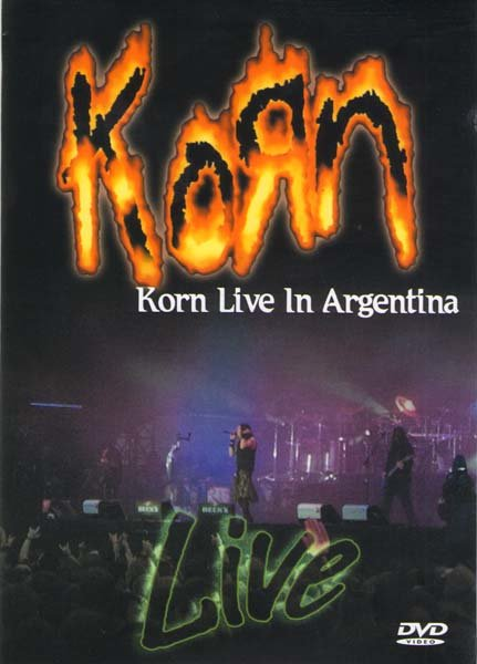 Korn Live in Argentina Quilmes Rock на DVD