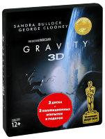Гравитация 3D 2D (2 Blu-ray)