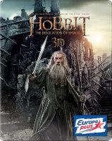 Хоббит Пустошь Смауга 3D+2D (4 Blu-ray)
