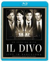 Il Divo An Evening With Il Divo Live In Barcelona (Blu-ray)*