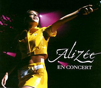 Alizee - En concert на DVD