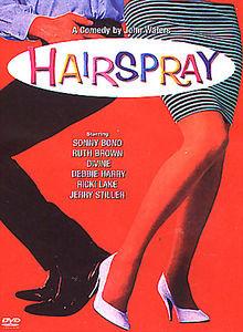 Лак для волос на DVD